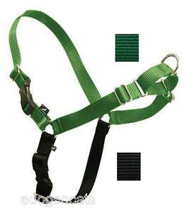 Gentle Leader Easy Walk Harness Dog Green Black Large