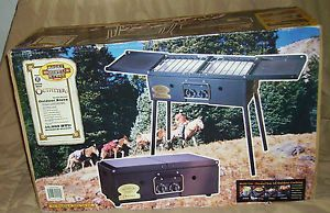 Rocky Mountain Range Co Outfitter Outdoor Stove Grill Model 02299 Never Used