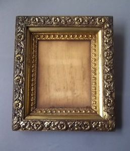 Antique Wood Gesso Aesthetic Movement Picture Frame Circa 1870