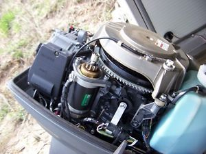Mercury oil injection on popscreen for Suzuki 40 hp outboard motor