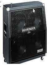 """Behringer BG412H 4x12"""" 400W Guitar Speaker Cabinet"""