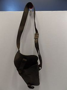 RARE Boyt US 43 Vintage Military Leather Shoulder Holster