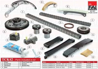 Timing Chain Kit for Nissan Pick Up D22 2 5 Di 03 02 ATCK42 1744