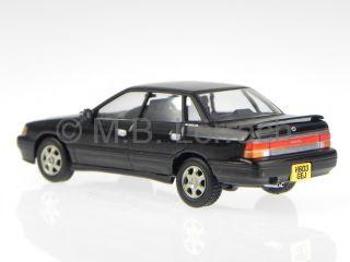 Subaru Legacy RS Turbo Black Diecast Model Car 11801 Vanguards 1 43