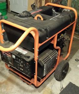 Generac GP17500E 17500 Watt Portable Generator  with propane kit.