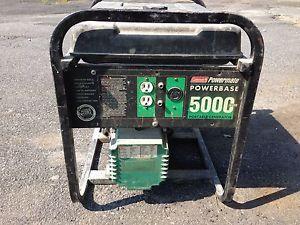 Coleman Powermate Generator 10HP 5000W Portable Power Generator 5000 Watts Gas