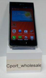 LG Venice 730 4GB Black Boost Mobile Smartphone Clean ESN