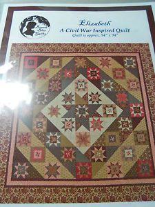 Bonnie Blue Quilts Elizabeth Quilt Pattern Civil War Quilt