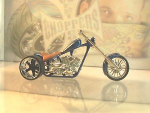 Custom Trike West Coast Choppers El Diablo Hard Tail Jesse James Diecast 4U