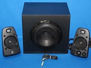 "Logitech Z623 Computer Speakers 2 1 CH 6 5"" Subwoofer THX Certified 200 Watts"