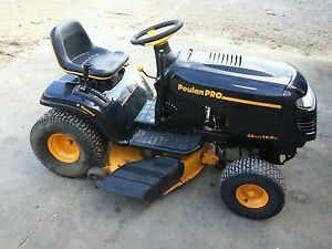 poulan pro riding lawn mower parts manual