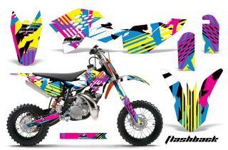 AMR Racing Dirt Bike Graphic Kit Decal Sticker KTM SX50 Parts SX 50 09 12 Flash