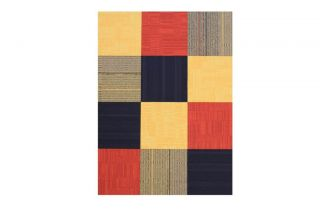 "Flor Ahoy Area Rug Tile Kit 6' 5"" x 5' 12 Tiles of 19 7"" x 19 7"""