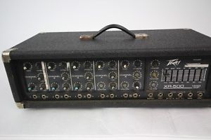 Peavey XR 500 Powered Mixer Amp 5 Channel 260C Vintage Amp Mixer
