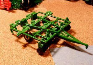 1 64 Ertl Farm Toy John Deere Field Cultivator Disk Harrow Tractor Implement