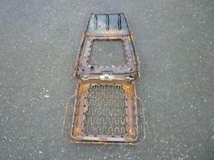 1971 1972 Mustang Bucket Front Seat Frame Mach I Grand'E Floor Interior Decor