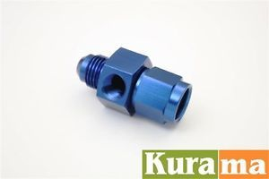 An 6 AN6 Male to Female 1 8 NPT Side Gauge Port Sensor Adapter Take Off Fitting