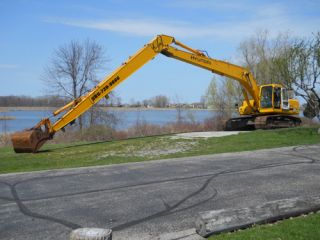 2005 Hyundai 290LC 7 Excavator 60 ft Long Reach 4000 Hrs Works Perfect Look
