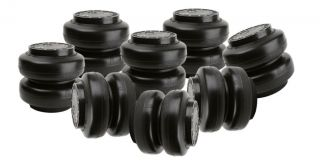 "Slam Specialties 8 Pack SS 8 Air Bag 1 2"" Port 250 PSI Max Air Ride Suspension"