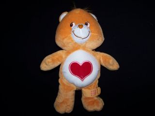 "Care Bears 2004 Tenderheart Boo Boo Bear 12"" Electronic Talking Plush Toy Tested"
