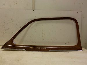 46 47 48 Chevy Car Right Front Door Window Glass Surround Frame Garnish Molding