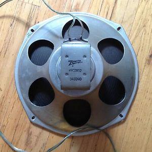 "Zenith Console Radio 8 Ohm 12"" Speaker 49CZ852"