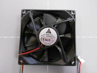 Delta Electronics 12V DC 08A 92mm x 92mm x 25mm Brushless Fan ASB0912L