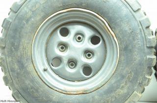 04 Arctic Cat 650 V2 4x4 Rear Wheels Tires Rims