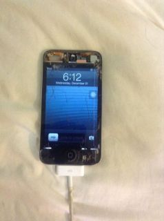 unlock cracked screen ipod