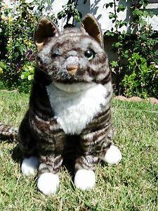 Folkmanis Cat Full Bodied Tabby Cat Puppet Plush Stuffed Animal Toy