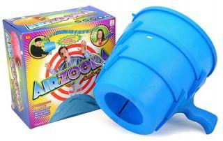 Blue Airzooka Bazooka Blaster Fun Gun Game Air Zooka Launcher Kids Toy Cannon