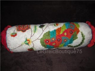 Cynthia Rowley 3pc Tropical Flowers Queen Quilt Set Decorative Pillows