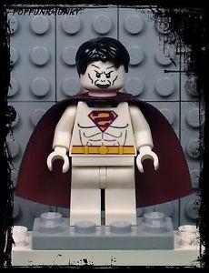 A75 Lego Batman Superman Joker Bane Marvel DC Bizarro Ghost Minifig Super Hero