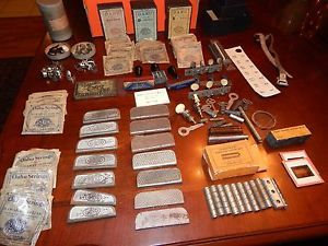 Vintage Hawaiin Steel Guitar Accessories Parts Collection