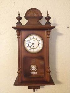 Linden Westminster Chiming Wall Clock Model 8084