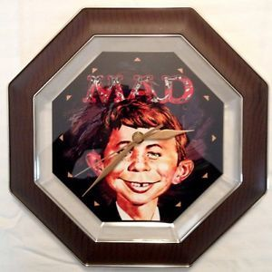 Mad Alfred E Neuman Wall Clock