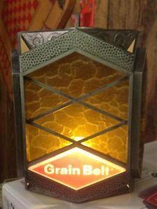 Vintage Grain Belt Beer Light Sign Wall Mount Pub Bar for Man Cave