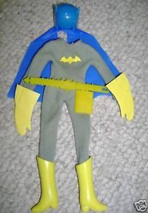 "Mego 8"" Parts Batgirl Complete Outfit w Accessories"