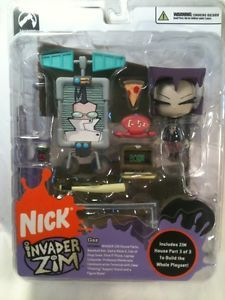 Invader Zim Series 2 GAZ Action Figure Palisades 2005