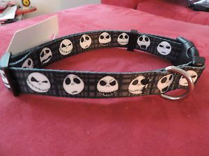 Jack Skellington Dog Collar and Leash Set