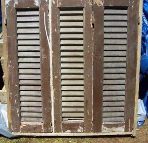 2 wood shutters victorian window louvers plantation door for European shutters
