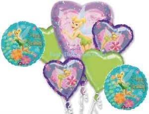 Tinkerbell Birthday Party Supplies Balloons Decorations