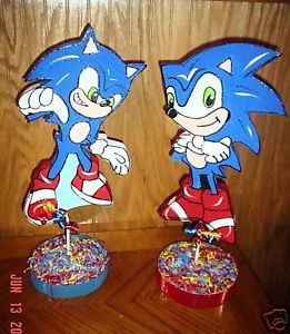 Sonic The Hedgehog Mario Brothers Party Supplies Decorations