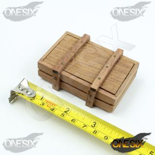 X13 20 1 6 Scale Custom Wooden Crates Boxes Hands Made
