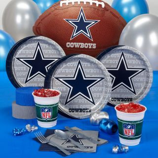 Dallas Cowboys NFL Football Birthday Party Supplies Kit Pack Decorations New
