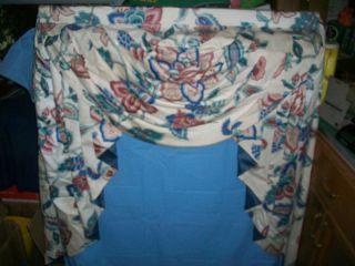 3 Custom Made Window Treatment Swags Valance Curtain Drape Wood Frame w Hardware
