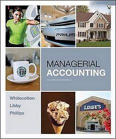 New Managerial Accounting by Stacey M Whitecotton Paperback Book