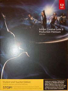 Adobe Creative Suite 6 Production Premium with Validation Code Serial Number