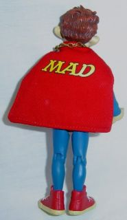 Mad Alfred E Neuman as Superman