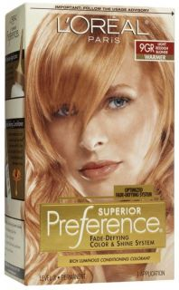 Loreal Hair Color 9gr Light Golden Reddish Blonde